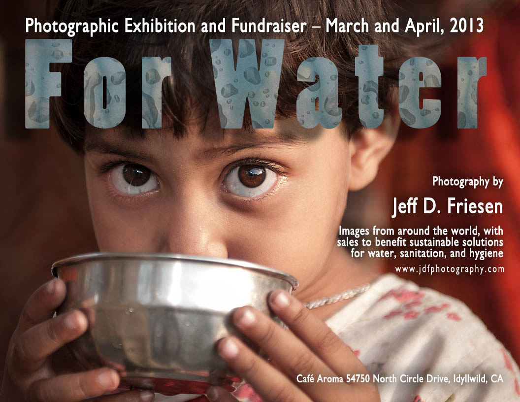 For Water - Exhibition Notice